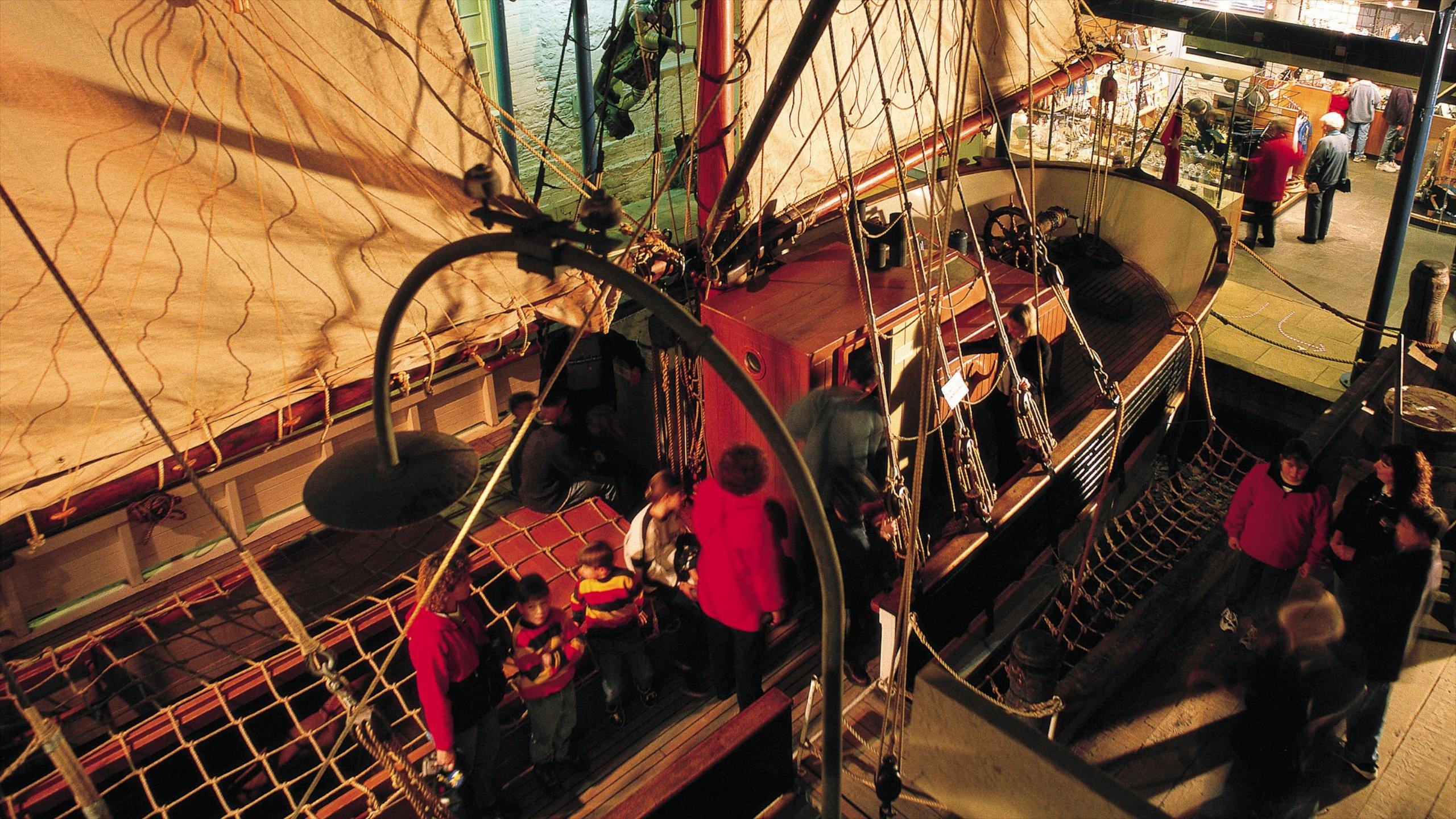 Zuid-Australisch maritiem museum, Adelaide, South Australia, Australië