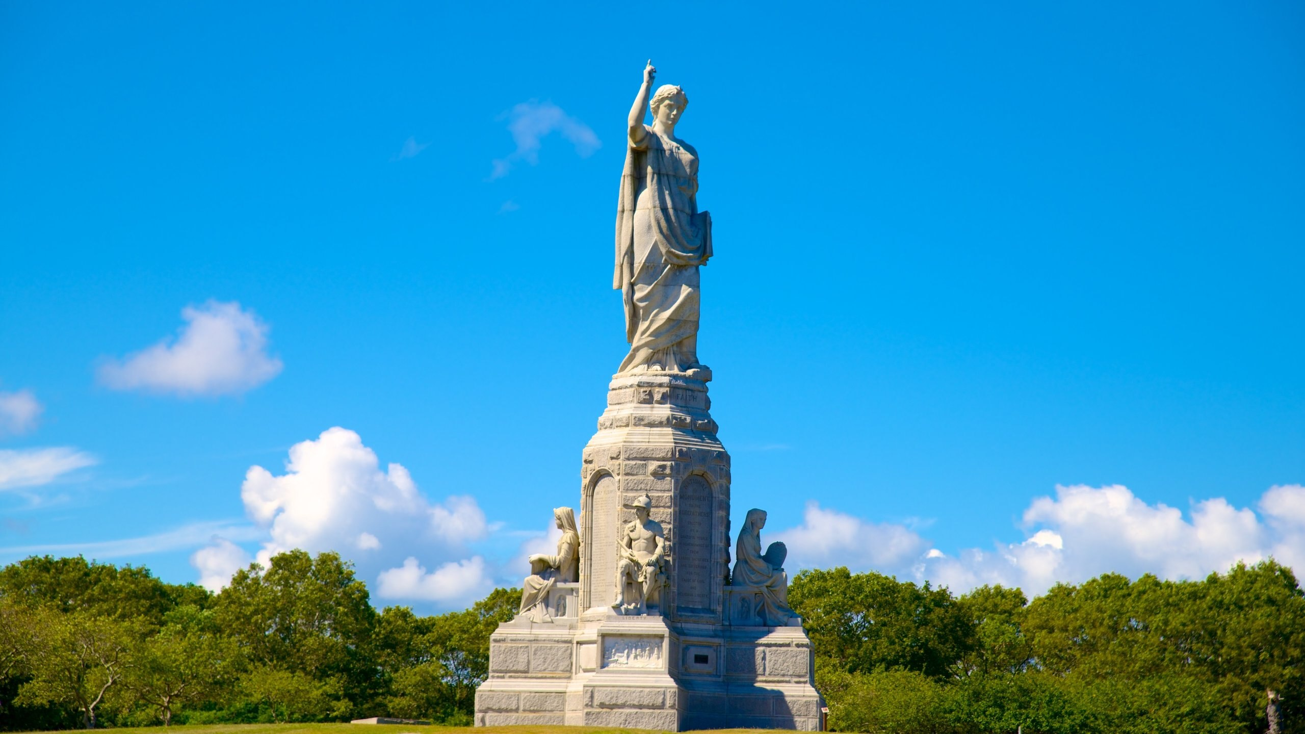 National Monument to the Forefathers, Plymouth, Massachusetts, United States of America