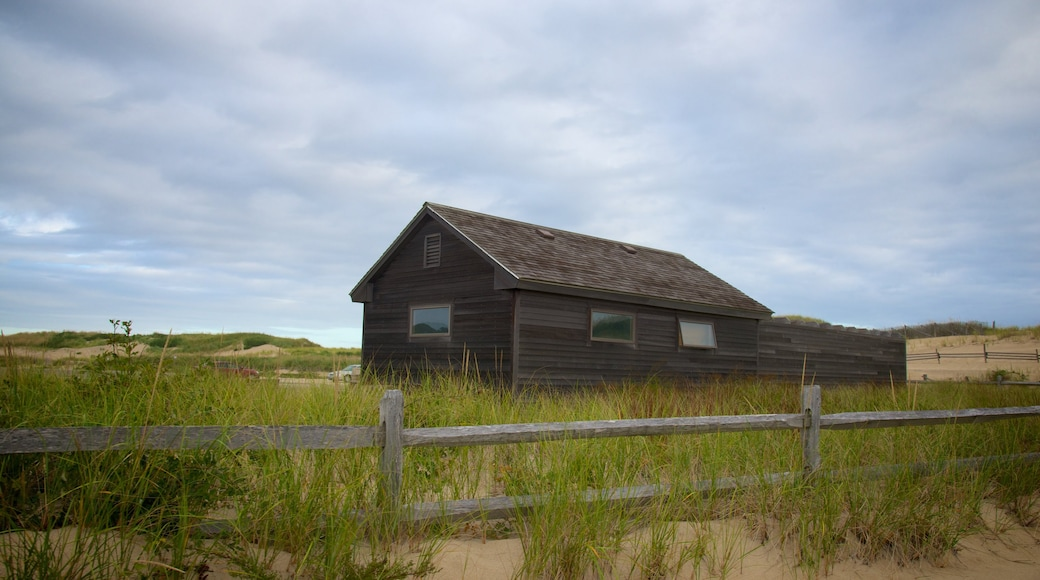 Head of the Meadow Beach featuring tranquil scenes and a house