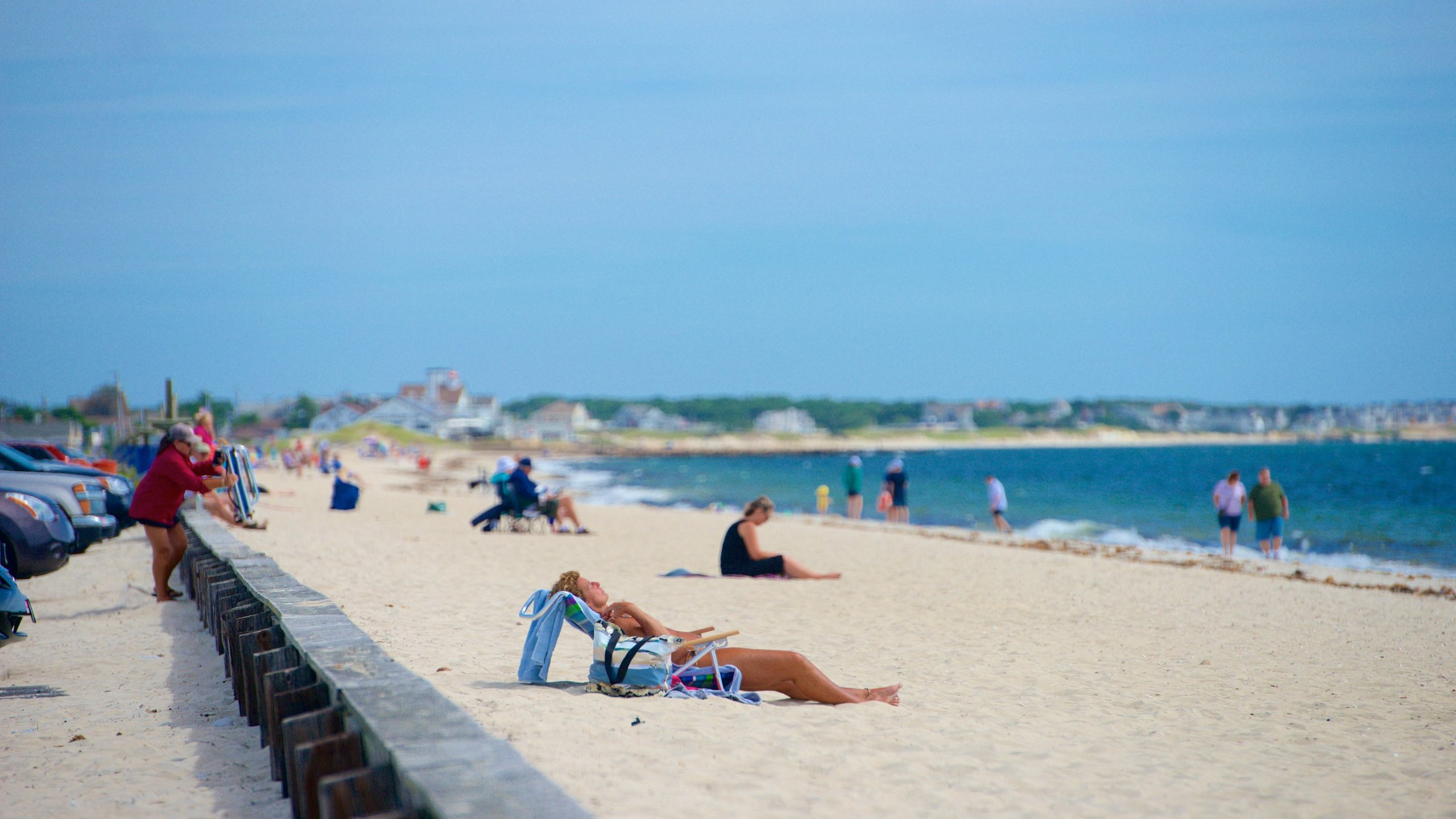 One of the most popular beaches in Dennis, this part of Cape Cod is vast and has the perfect weather for a range of land-based and offshore activities.