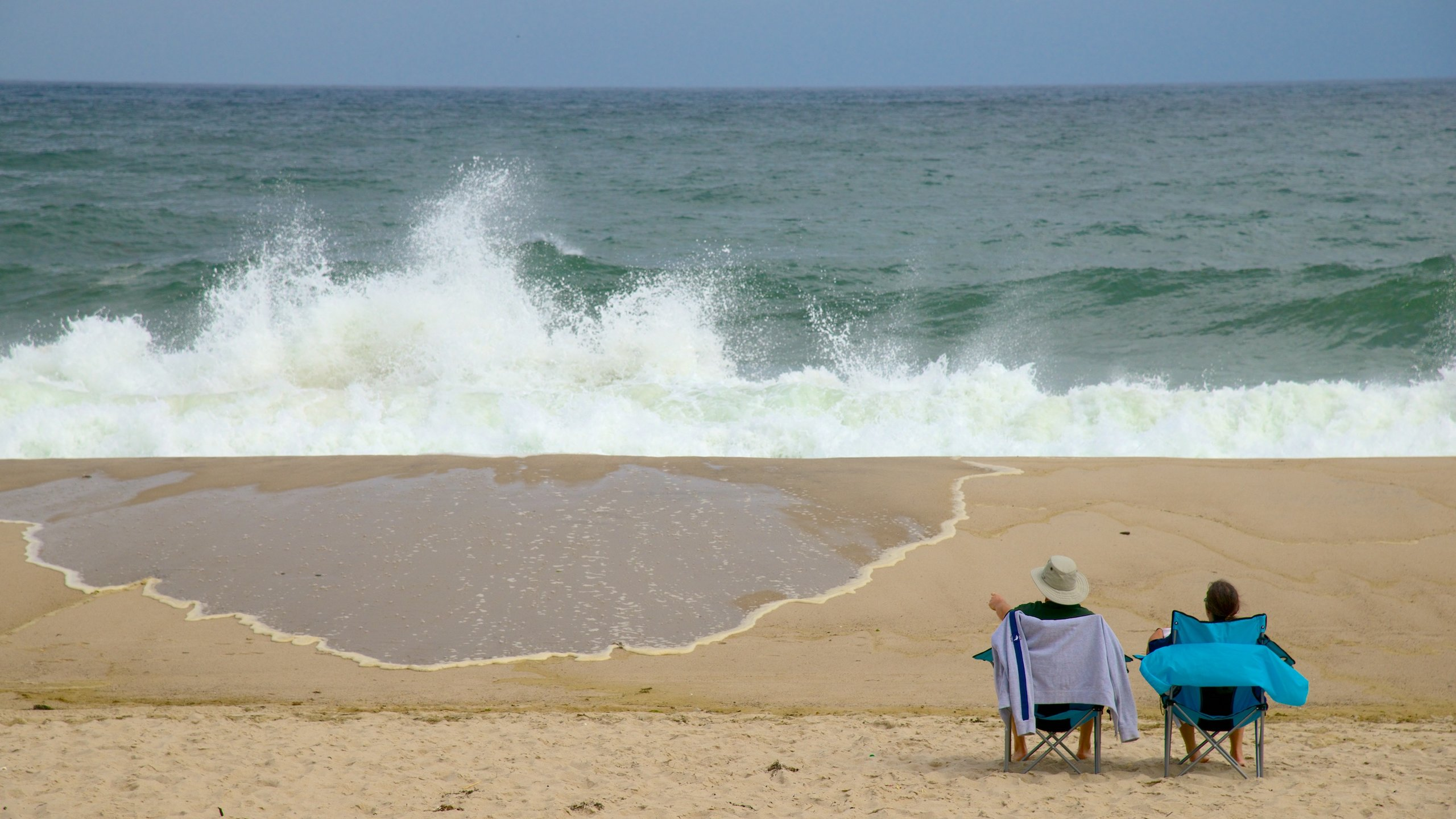 Vast expanses of white sand, light blue water and gentle waves mingle with the sounds of seabirds and seals at this secret gem in Cape Cod.