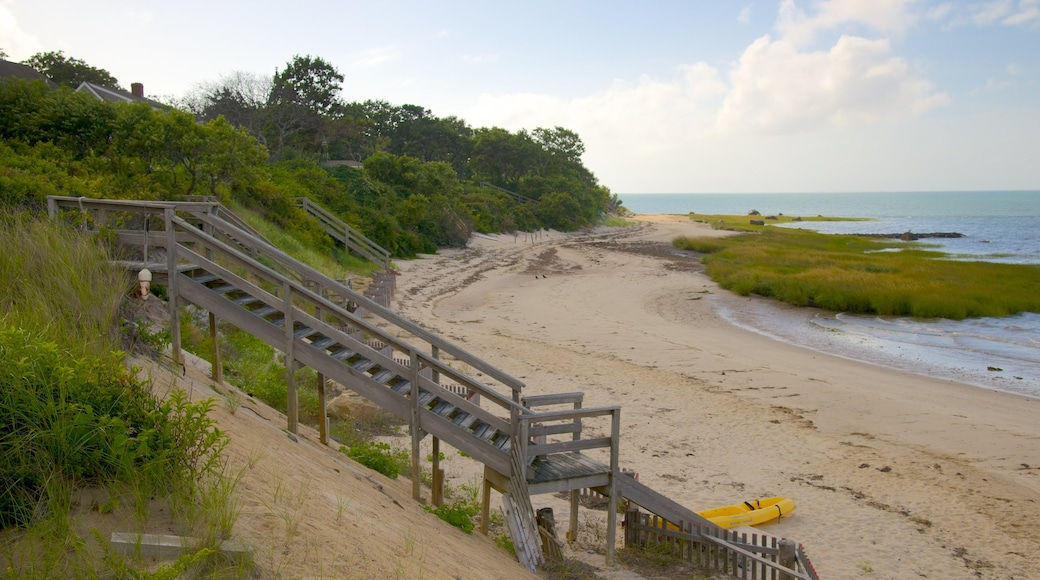 Breakwater Beach which includes kayaking or canoeing and a sandy beach