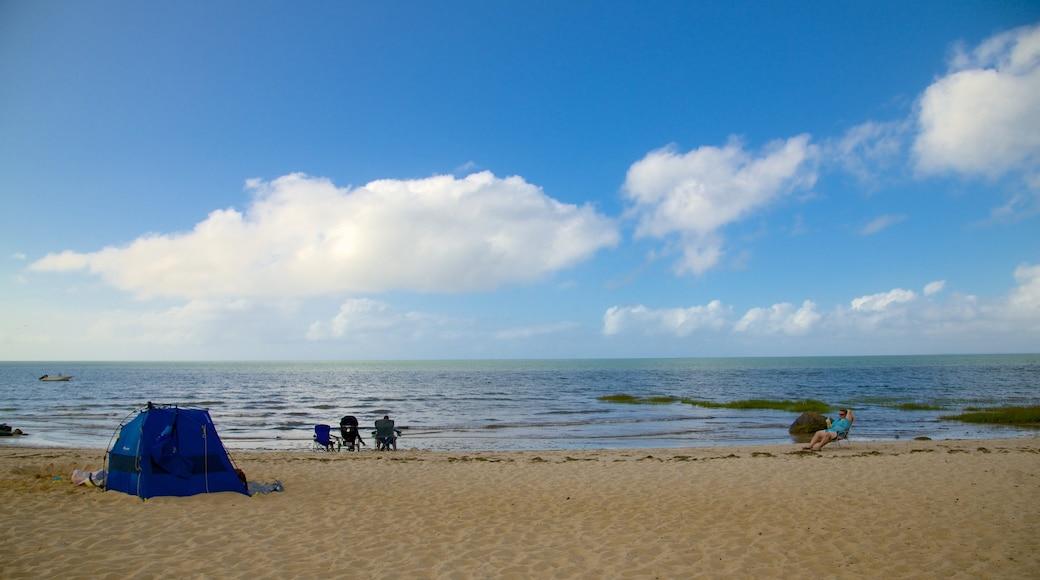 Breakwater Beach which includes a sandy beach