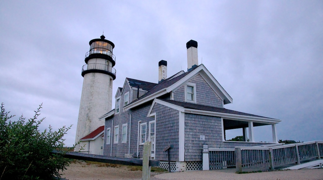 Highland Lighthouse featuring general coastal views, a lighthouse and a house