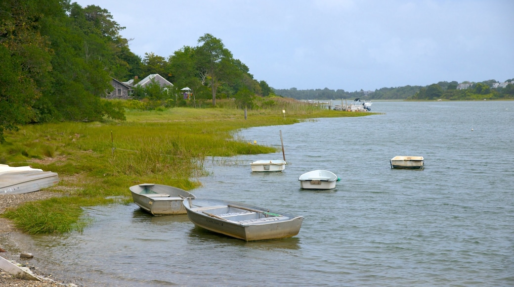 Salt Pond Visitor Center featuring a river or creek and a bay or harbor
