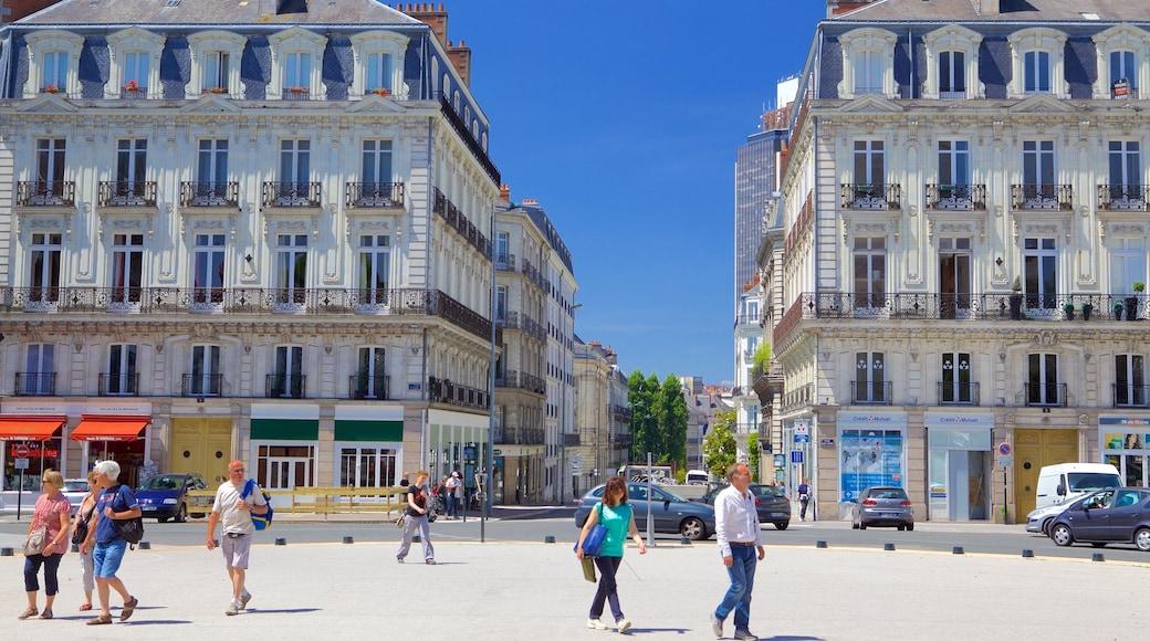 Nantes mettant en vedette maison et patrimoine historique