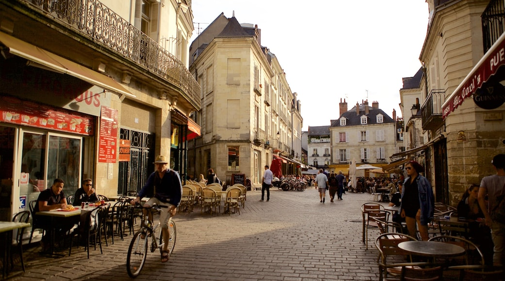 Tours featuring café scenes, a city and street scenes