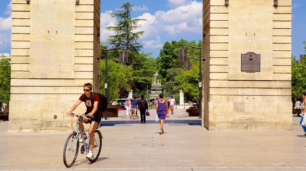 Dijon johon kuuluu monumentti, tori ja pyöräily