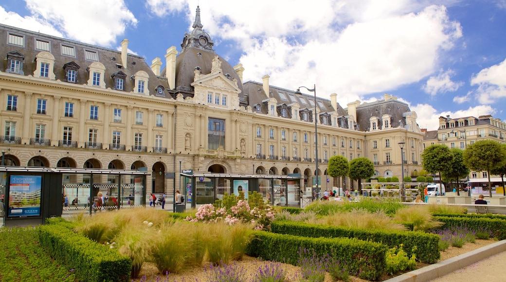 Rennes qui includes patrimoine historique