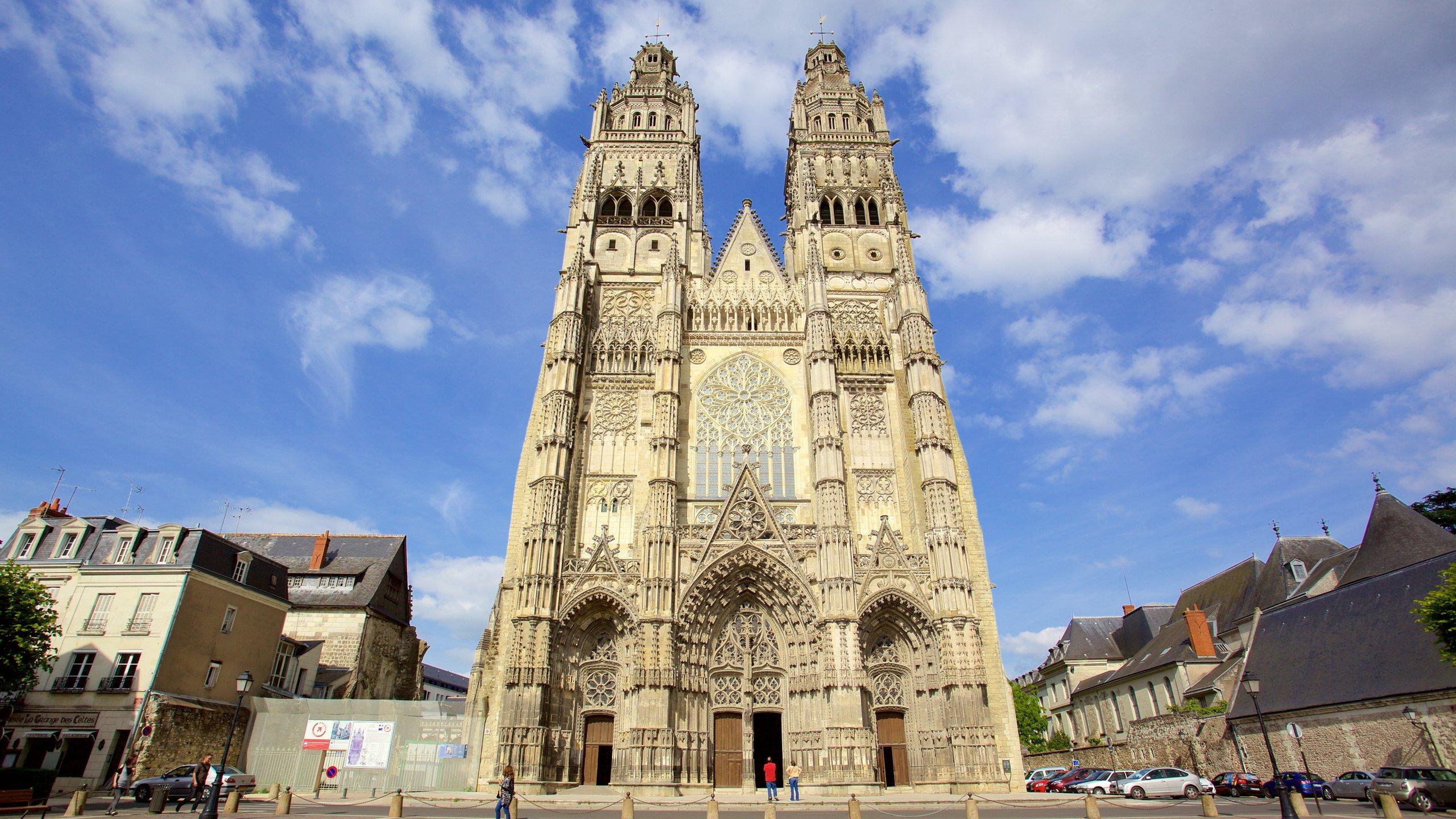 Cattedrale di Tours, Tours, Indre-et-Loire (dipartimento), Francia
