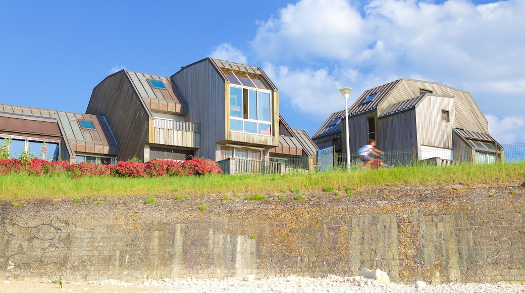 Minimes Beach which includes a house