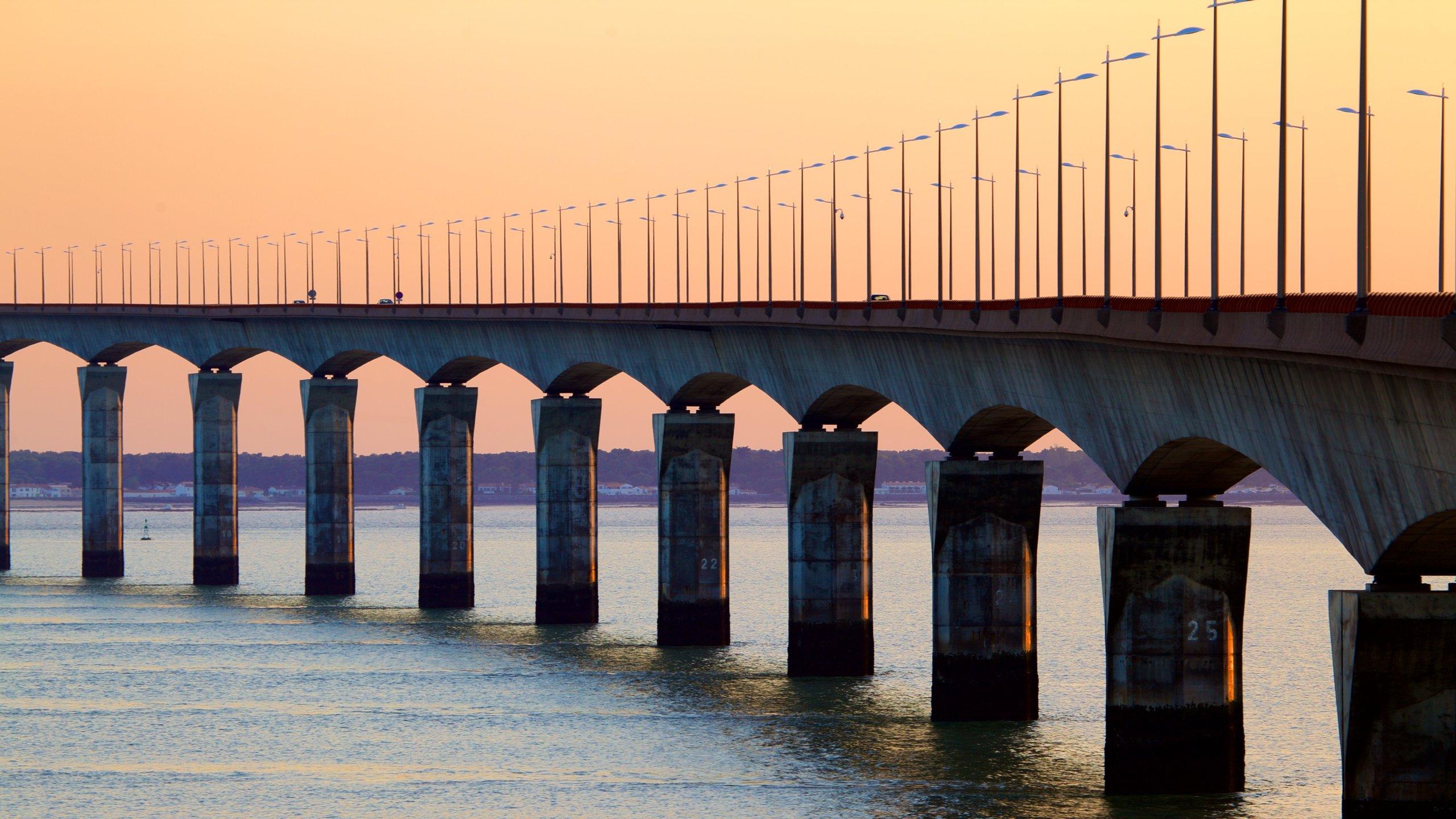 Ile de Re Bridge, France