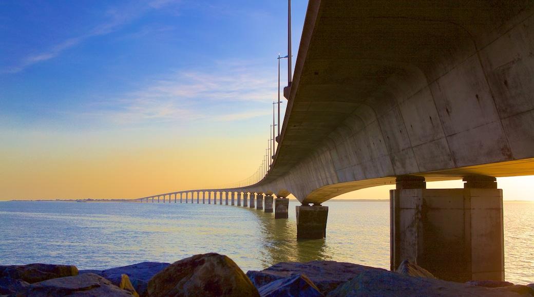 Ponte di Ile de Re che include ponte