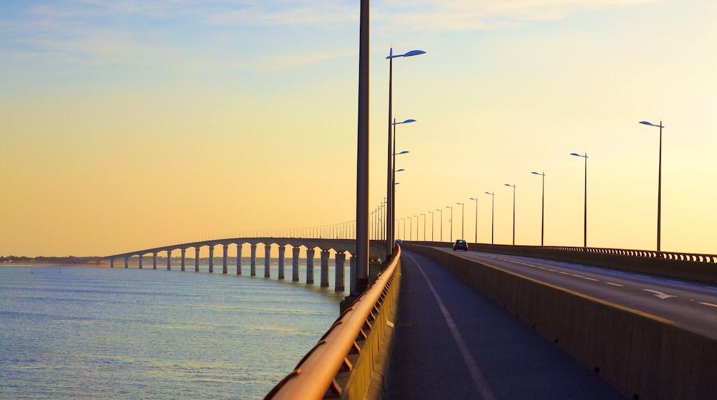 Ponte di Ile de Re mostrando ponte