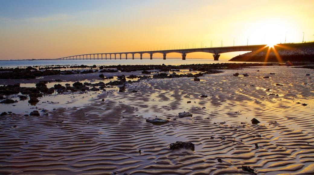 Ponte di Ile de Re caratteristiche di ponte e tramonto