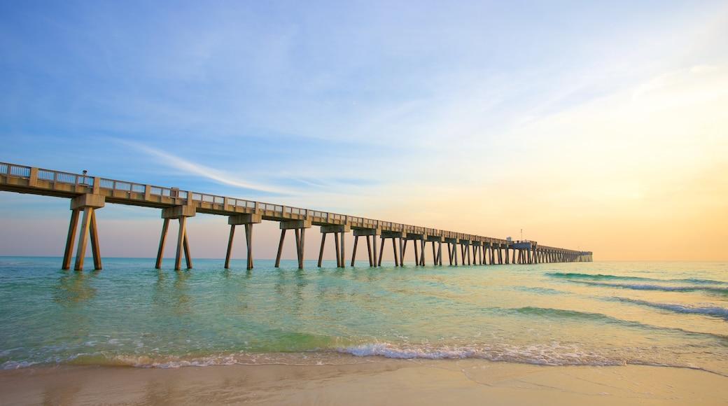 Panama City featuring a sandy beach