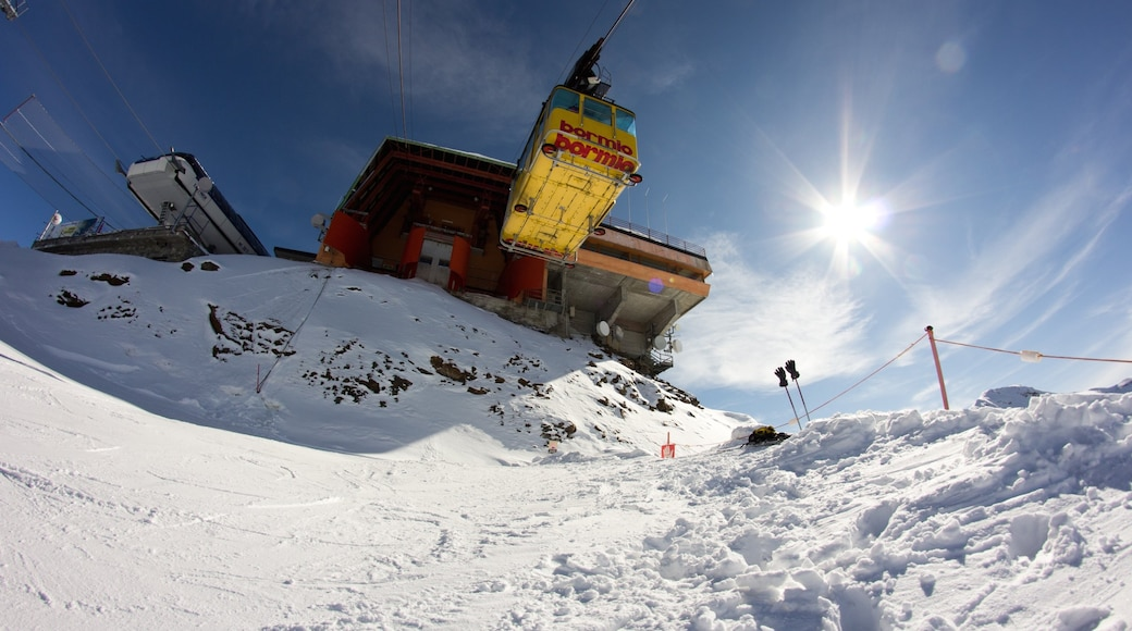 Bormio fasiliteter samt snø