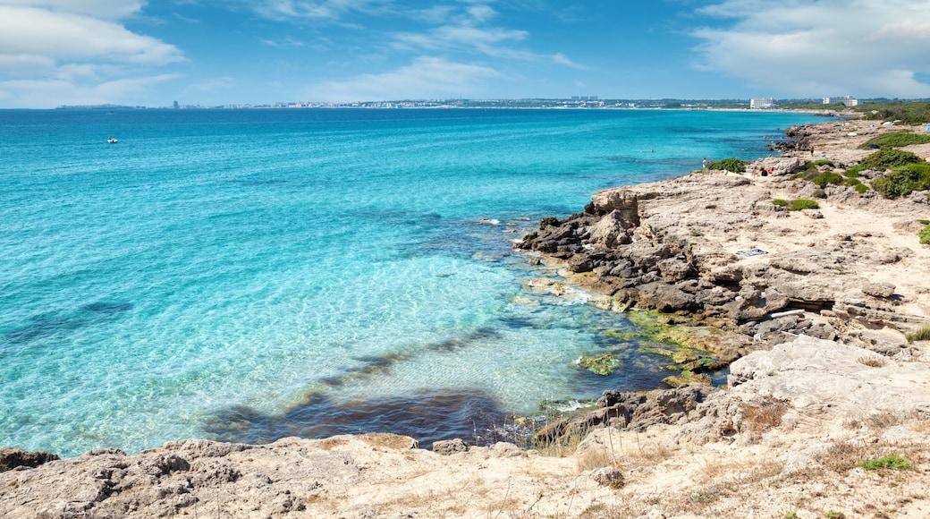 Gallipoli das einen schroffe Küste