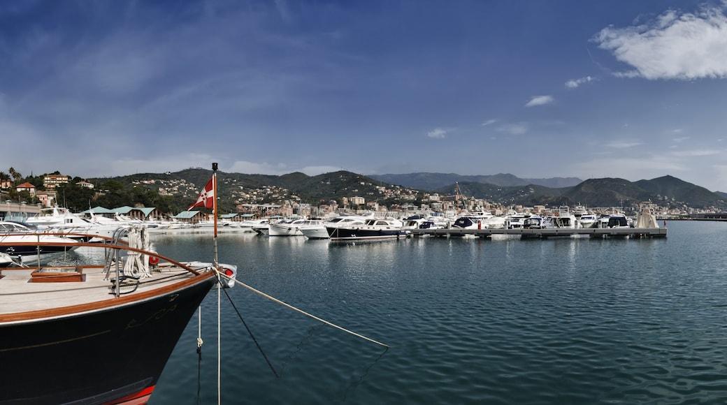 Varazze caratteristiche di baia e porto e giro in barca