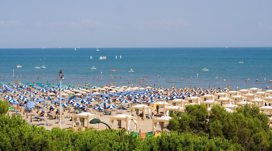 Lignano Sabbiadoro caratteristiche di spiaggia sabbiosa