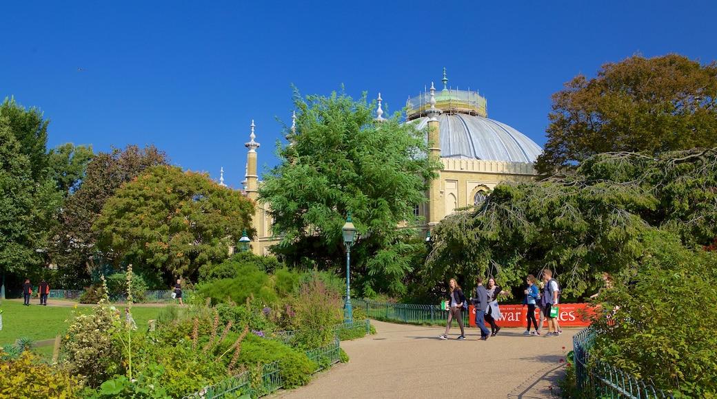 Brighton Dome featuring a garden