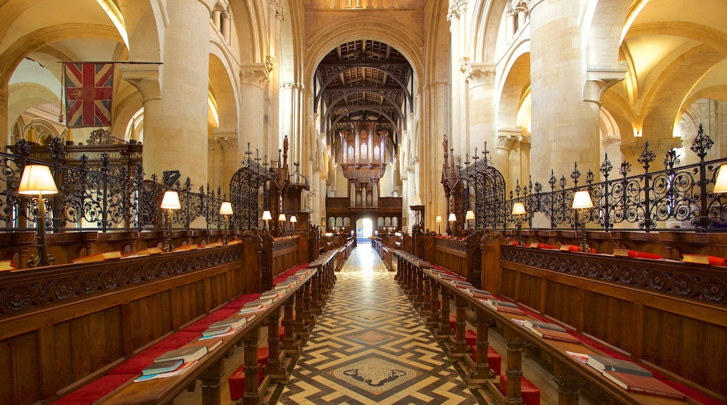 Christ Church Cathedral featuring interior views, a church or cathedral and heritage elements