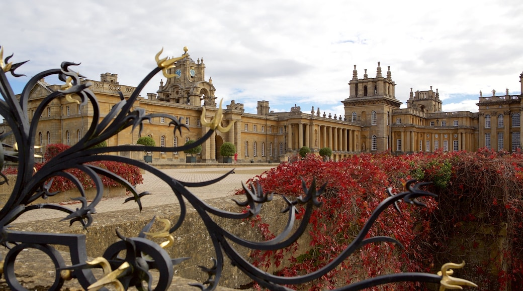 Blenheim Palace featuring heritage architecture, a castle and heritage elements