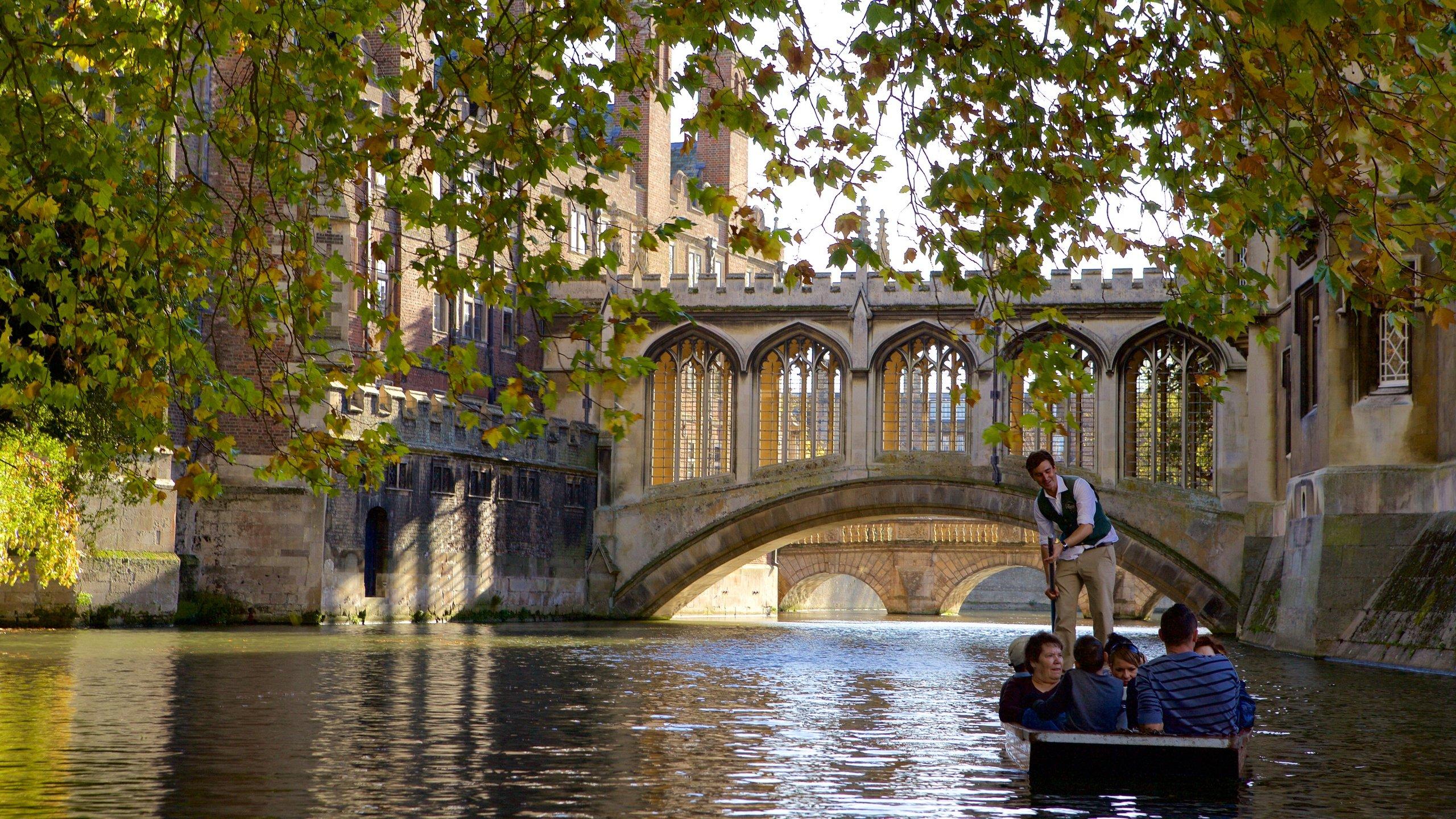 Pont des Soupirs, Cambridge, Angleterre, Royaume-Uni