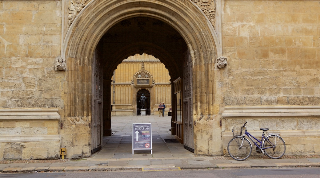 Bodleian Library caratteristiche di oggetti d\'epoca