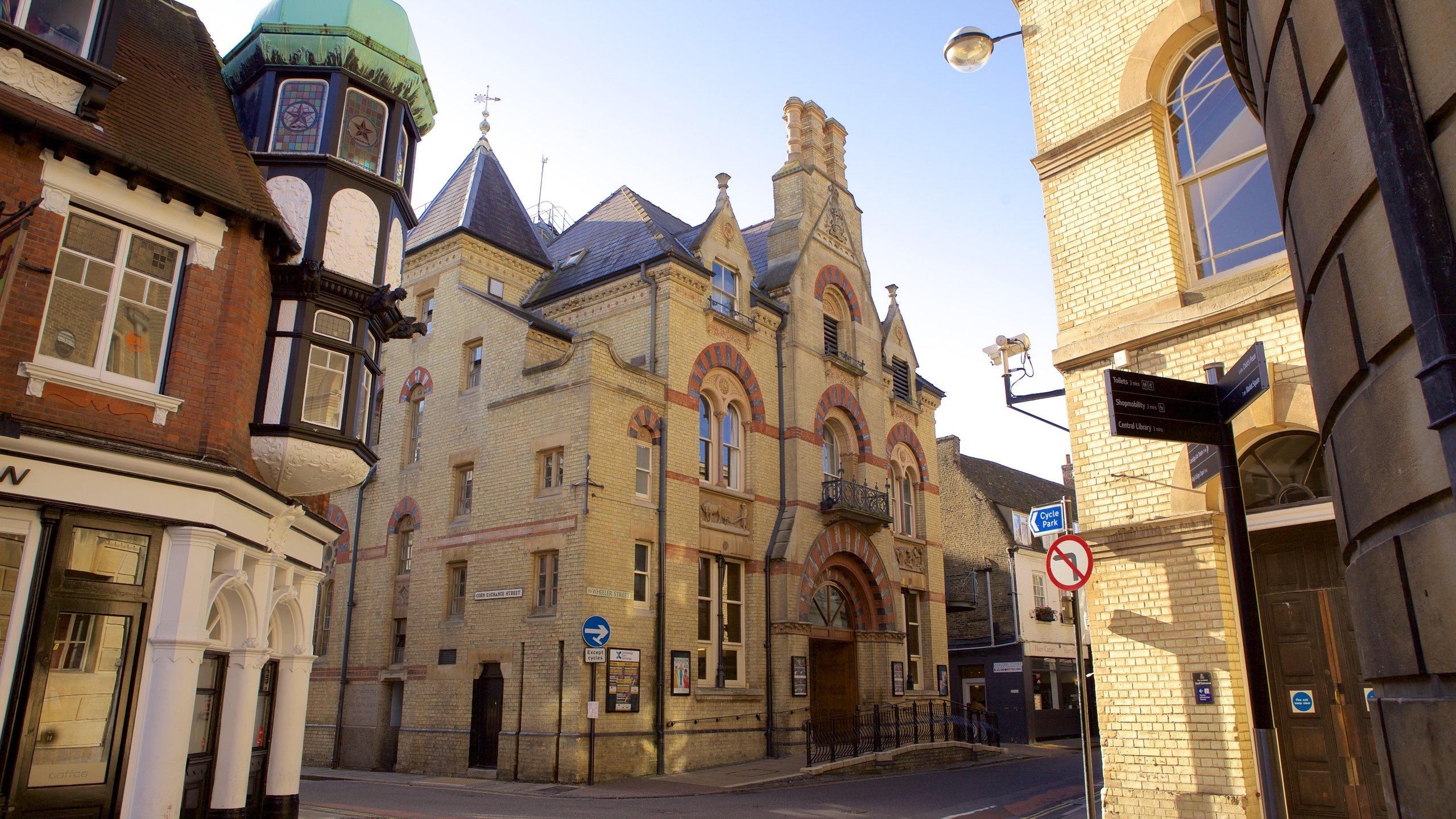 Centre-ville de Cambridge, Cambridge, Angleterre, Royaume-Uni