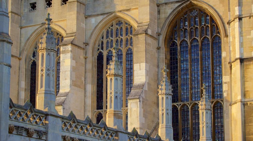 King\'s College Chapel ofreciendo arquitectura patrimonial y elementos patrimoniales