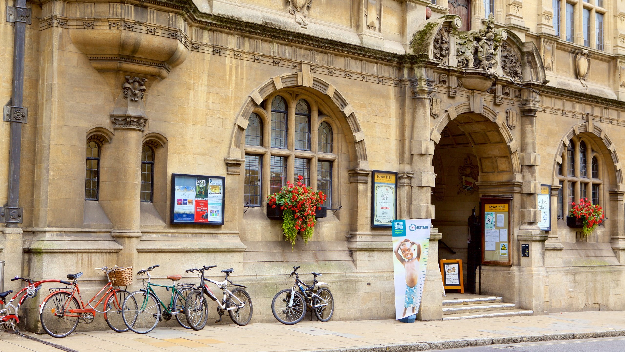 Oxford Town Hall, Oxford, England, United Kingdom