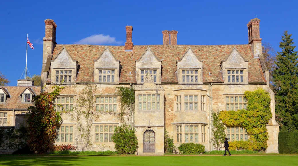 Anglesey Abbey which includes heritage architecture and heritage elements