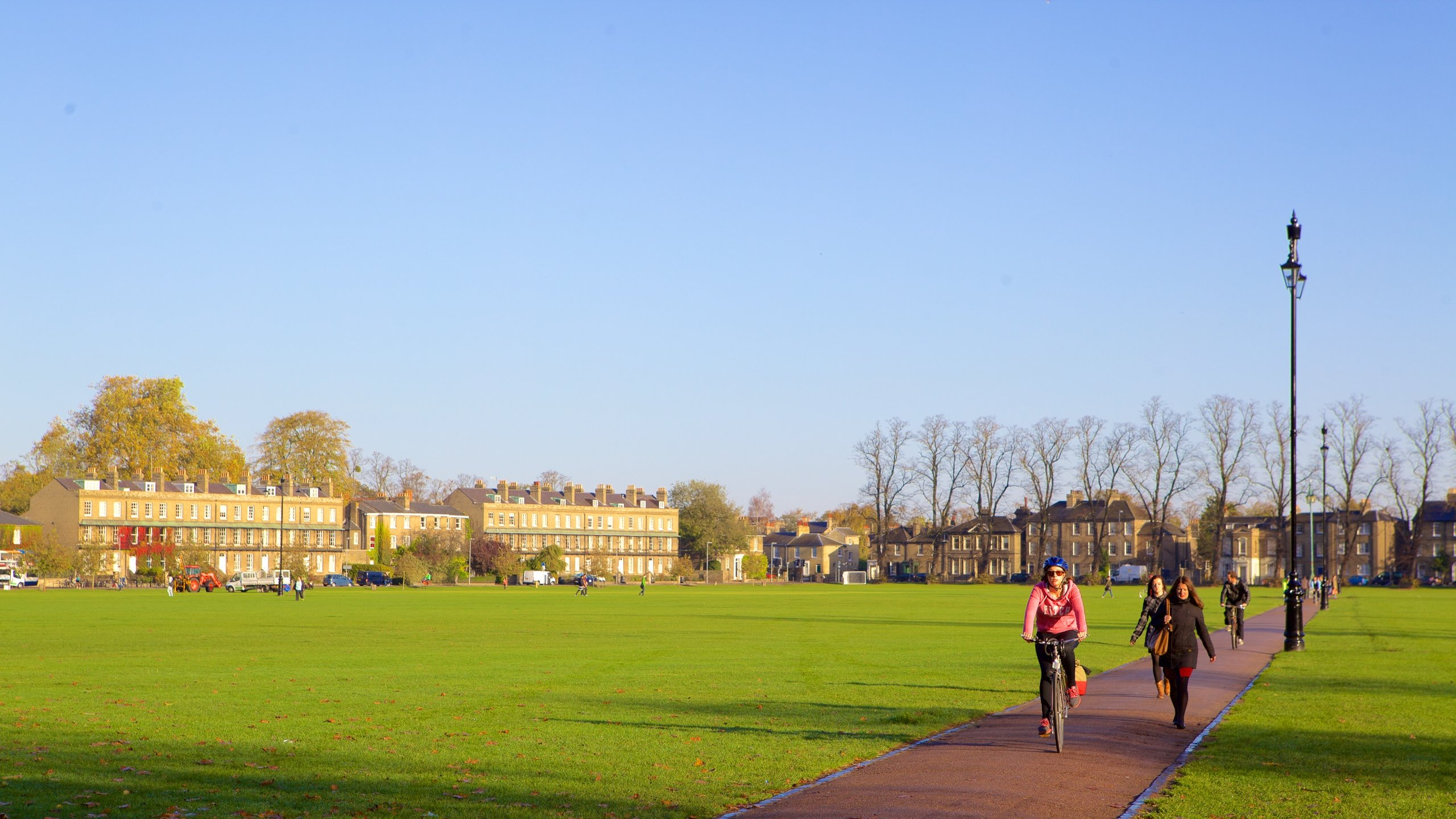 Parker's Piece (espace vert), Cambridge, Angleterre, Royaume-Uni