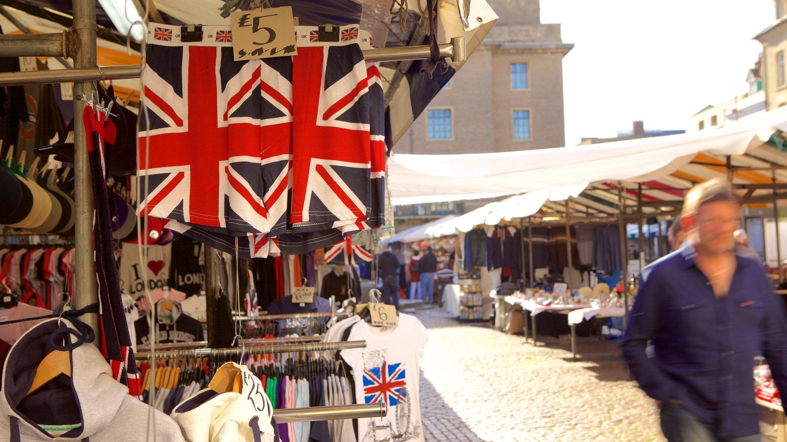 Cambridge Market Square, Cambridge, England, United Kingdom