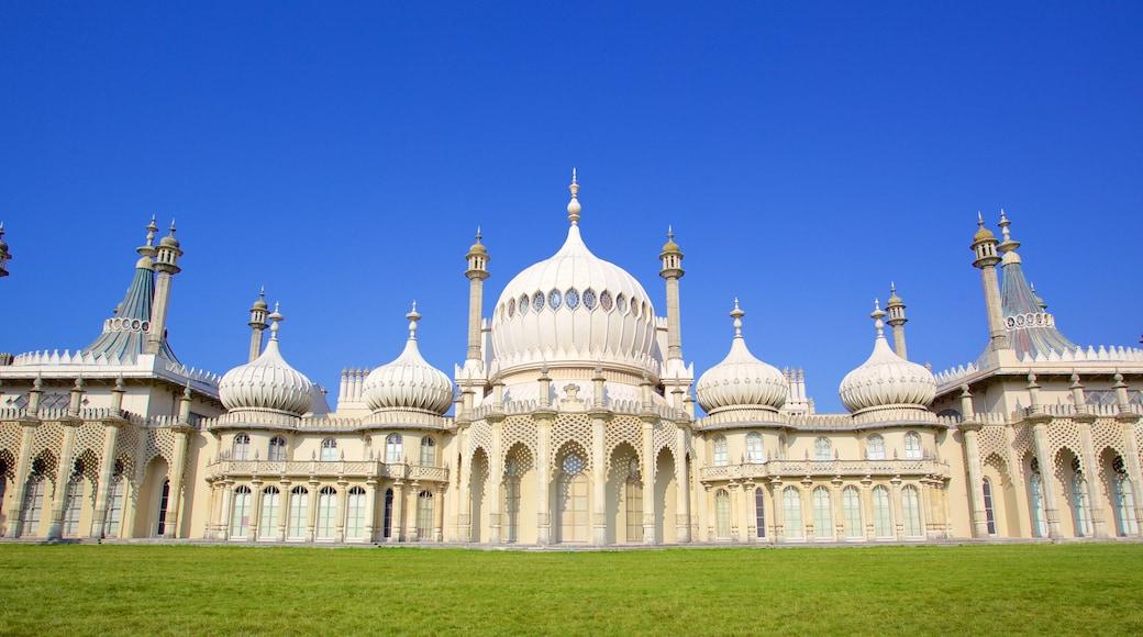 Brighton Royal Pavilion das einen Geschichtliches, historische Architektur und Palast oder Schloss