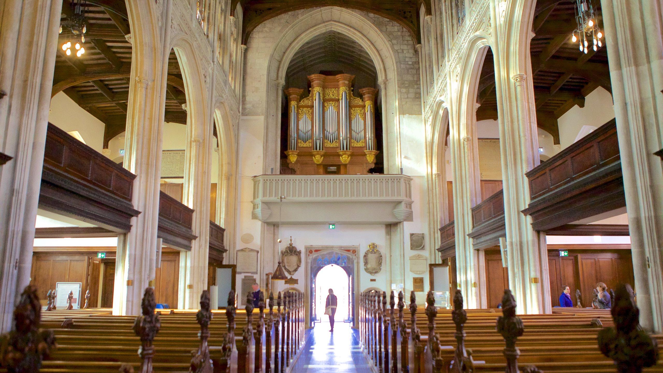 Kerk van St. Mary the Great, Cambridge, Engeland, Verenigd Koninkrijk