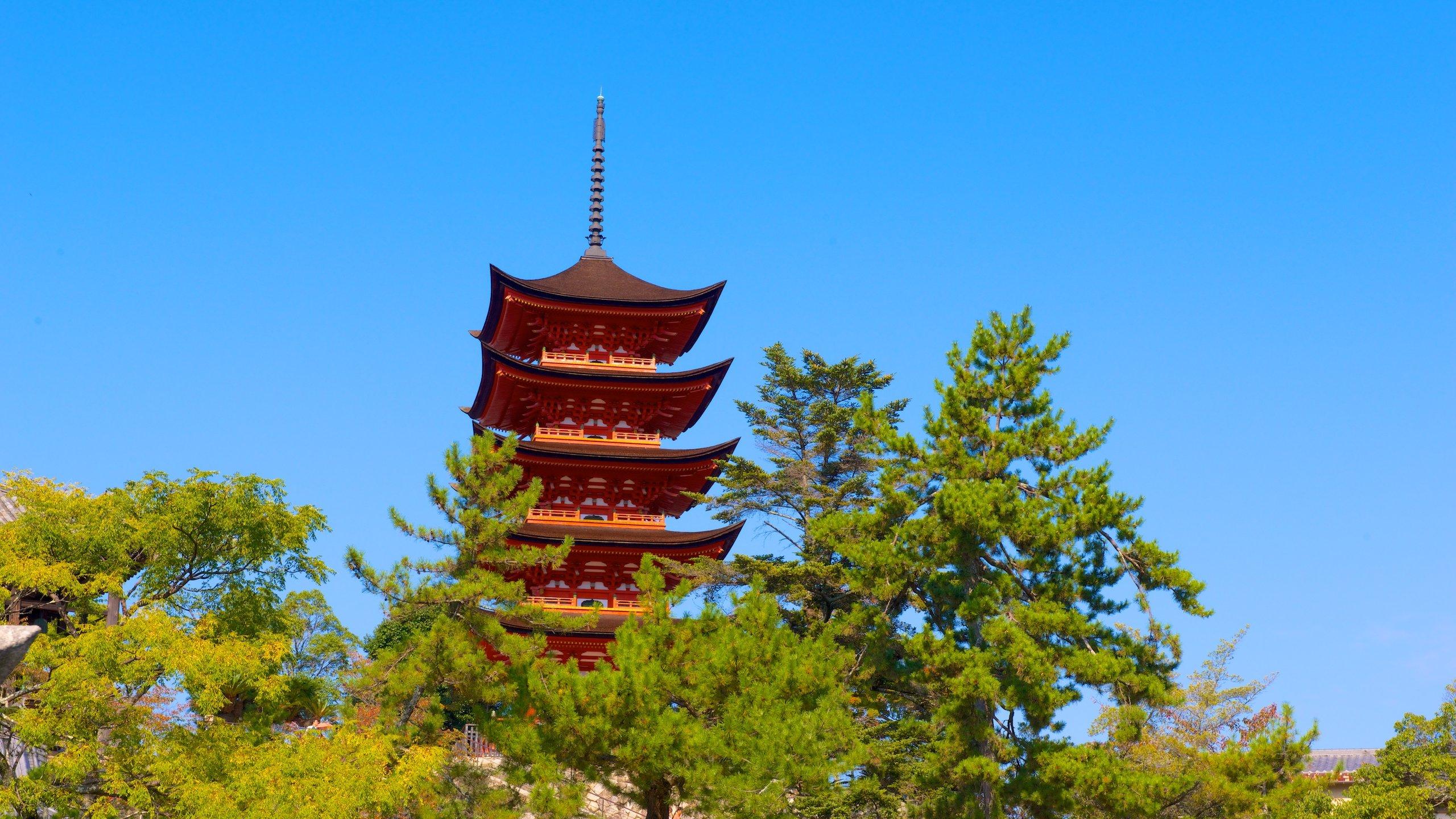 Itsukushima, Hatsukaichi, Präfektur Hiroshima, Japan