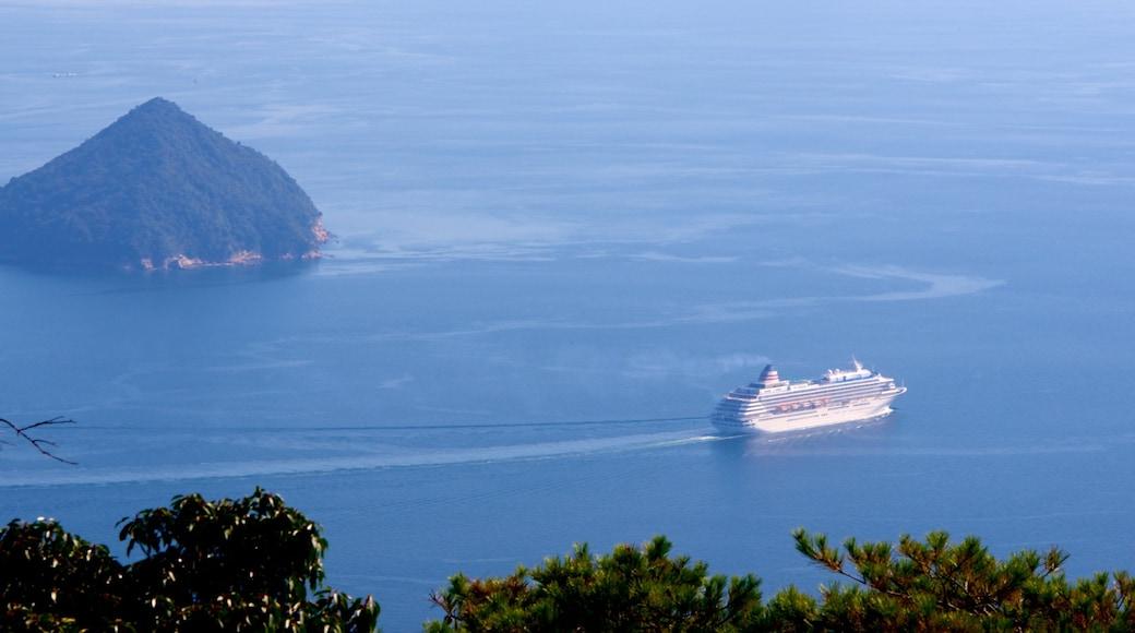 Japan featuring cruising and general coastal views