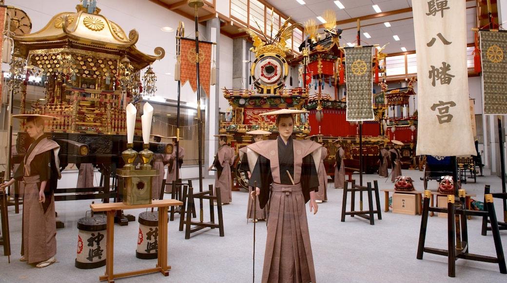 Takayama Yatai Kaikan which includes religious aspects
