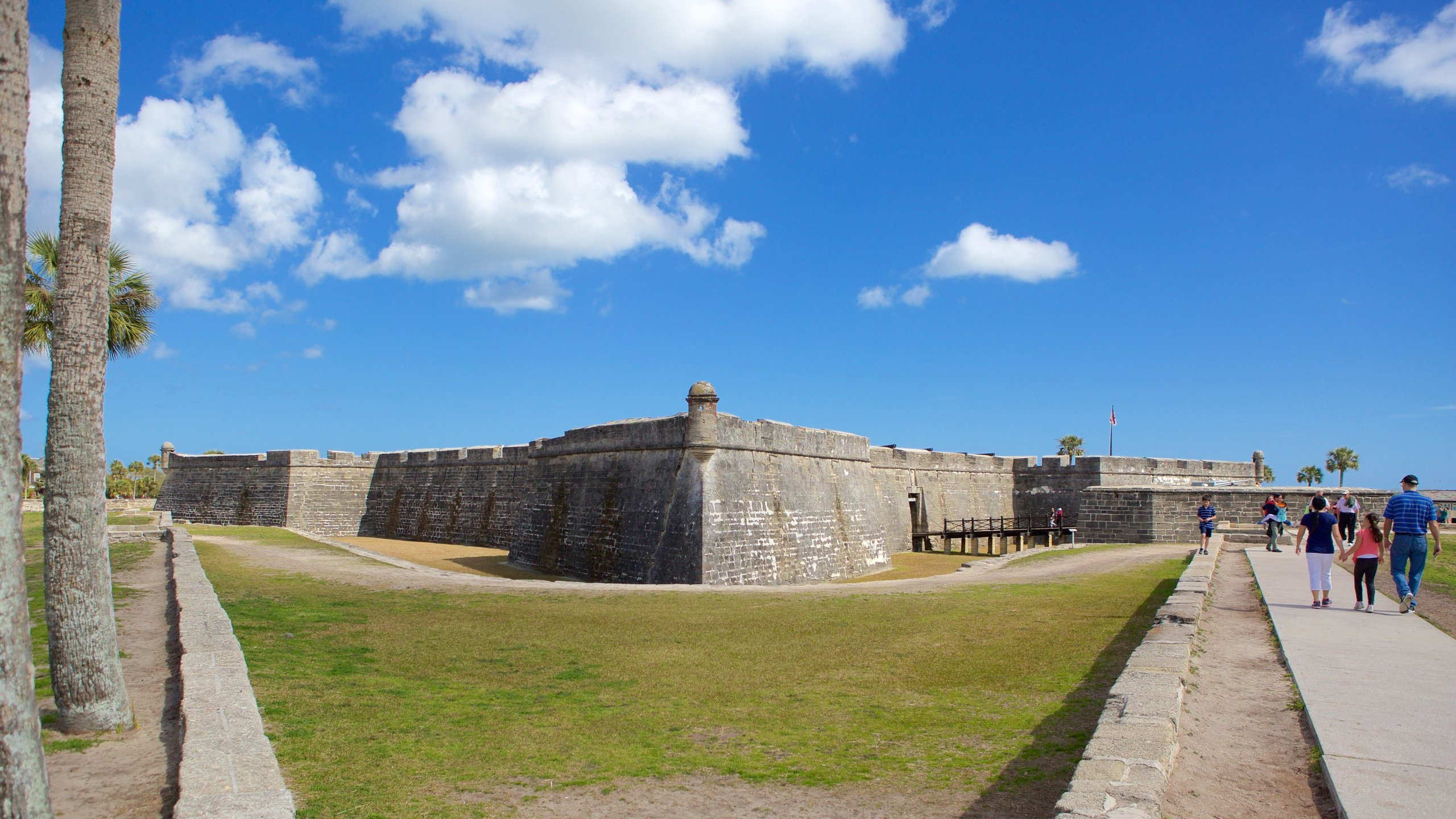Explore one of the the oldest standing masonry forts in North America and watch cannons being fired from the ramparts.