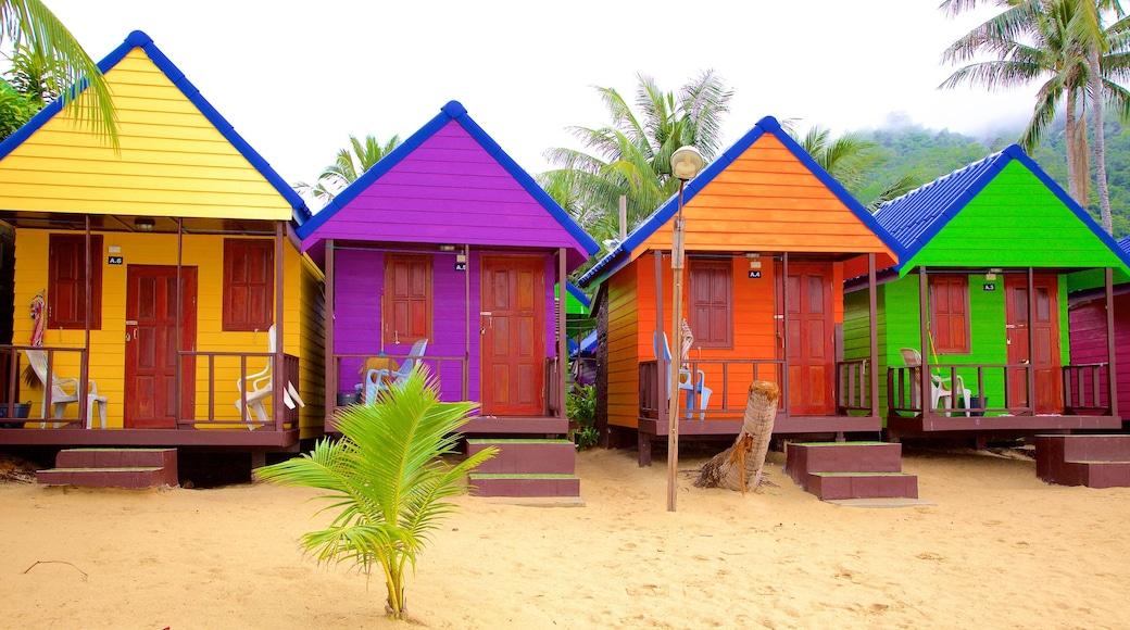 Lamai Beach featuring general coastal views and a house