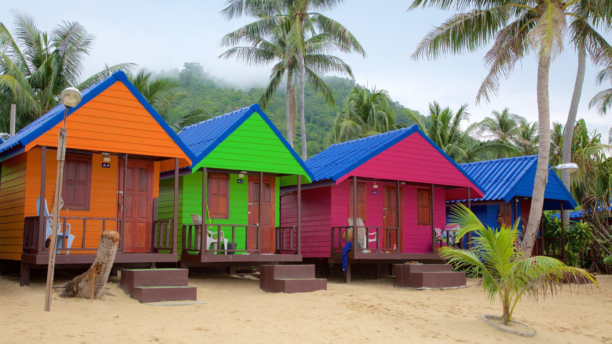 Strand von Lamai, Ko Samui, Surat Thani (Provinz), Thailand