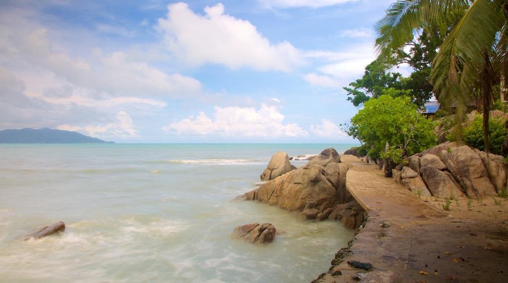 Koh Samui bevat rotsachtige kustlijn