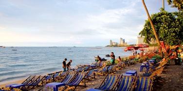 หาดพัทยา เนื้อเรื่องที่ ชายหาด