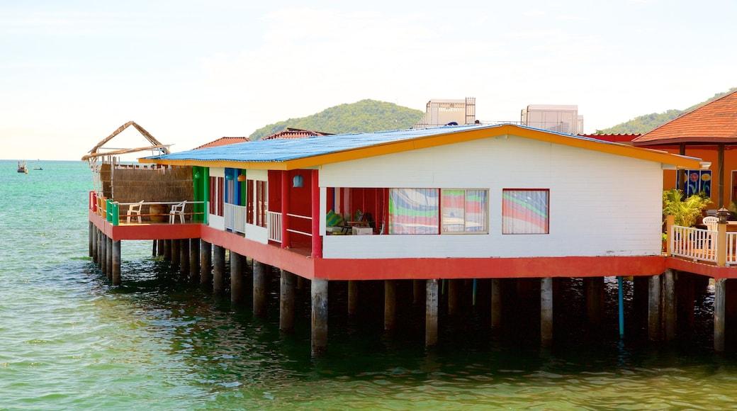 ท่าหน้าบ้าน ซึ่งรวมถึง ชายฝั่งทะเล และ บ้าน
