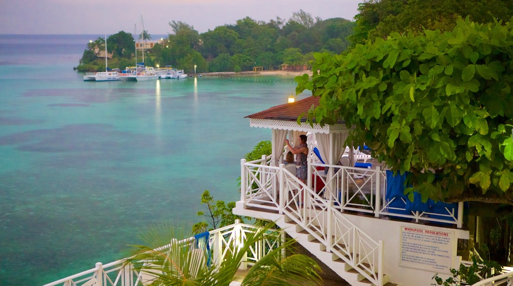 Ocho Rios which includes general coastal views, tropical scenes and a luxury hotel or resort