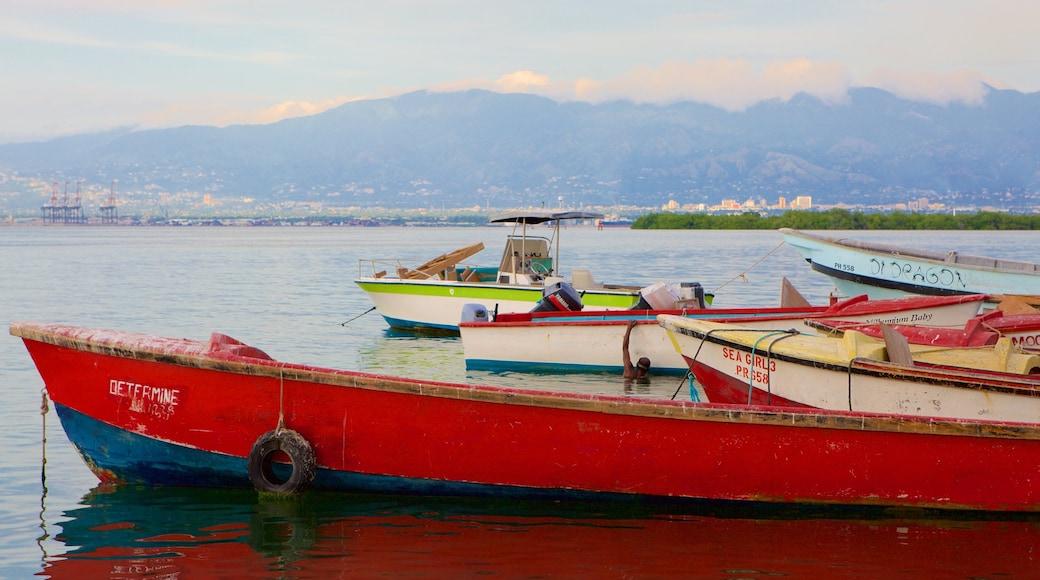 Port Royal featuring general coastal views and boating