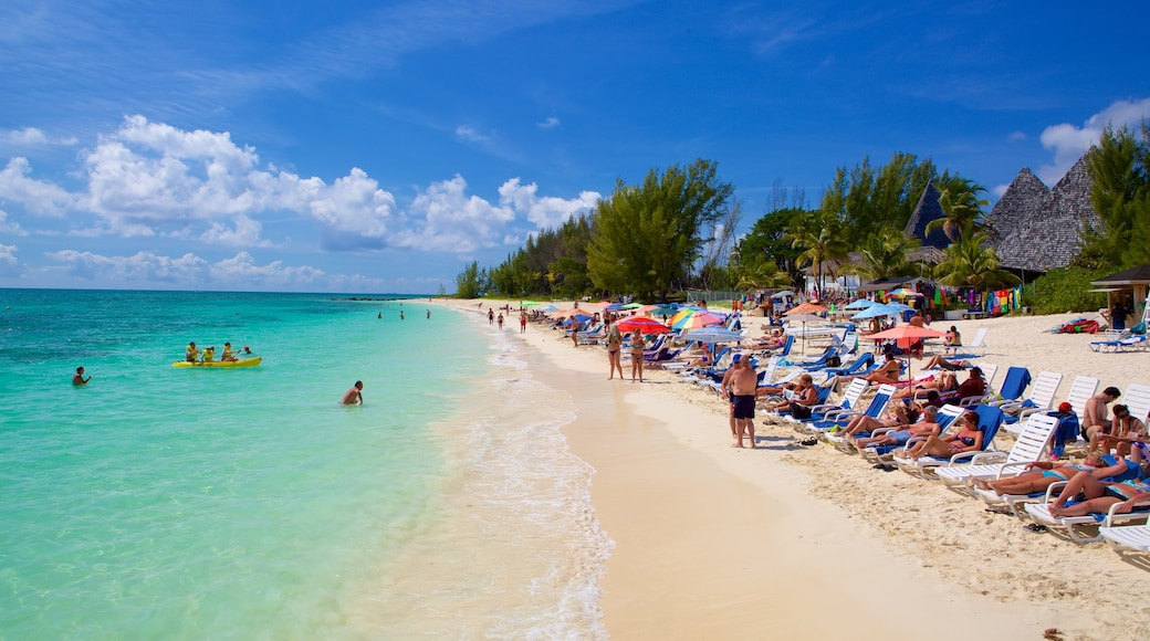 Taino Beach which includes a luxury hotel or resort, general coastal views and kayaking or canoeing