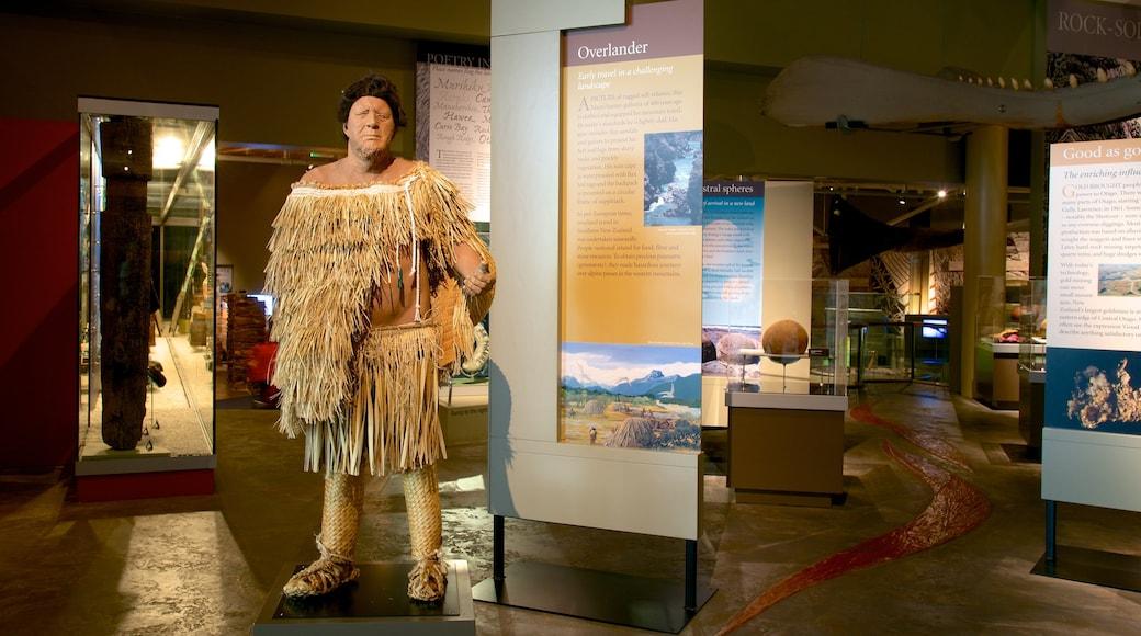 Otago Museum showing interior views